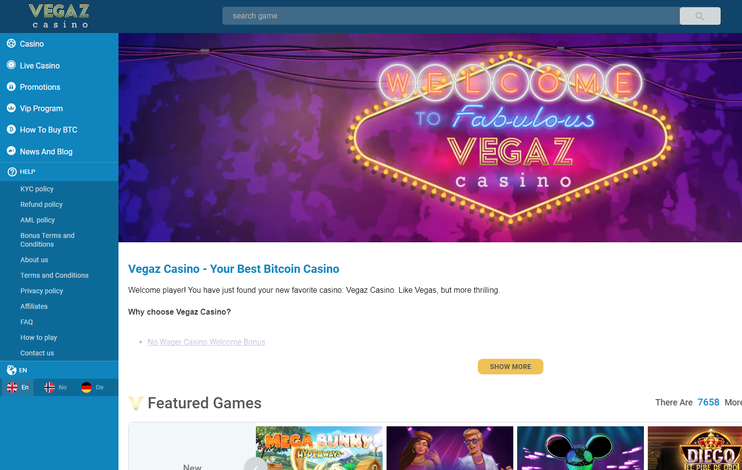 VegazCasino Review.png